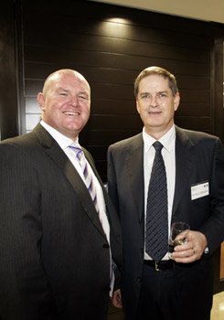 George Websdale, Stockland; Tony Stapledon, Your Building project leader.