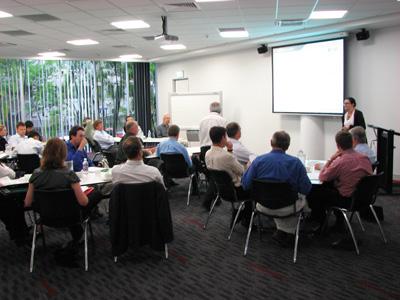 Participants at the Your Building workshop, Brisbane