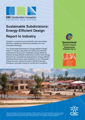 Sustainable Subdivisions: Energy-Efficient Design