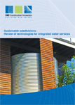 Sustainable subdivisions: Review of technologies for integrated water services