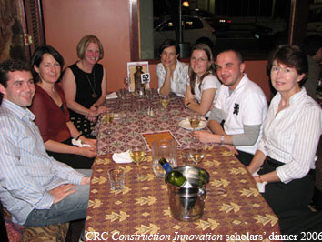 Scholars dinner Sept 2006